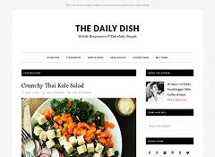 The Daily Dish Pro Genesis Child Theme for WordPress by StudioPress