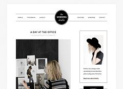 The Modern Studio Genesis Child Theme for WordPress by StudioPress