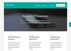 Whitespace Pro Genesis Child Theme for WordPress by StudioPress