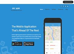 MyApp WordPress Theme by Templatic