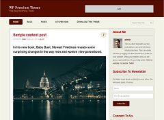 WP Premium WordPress Theme by Templatic