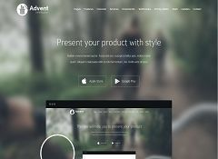 Advent WordPress Theme by Tesla Themes