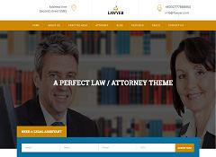 A Lawyer WordPress Theme via ThemeForest
