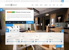 Apartment WP WordPress Theme via ThemeForest