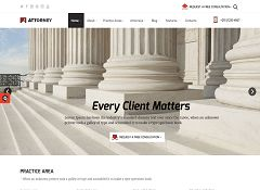 Attorney WordPress Theme via ThemeForest