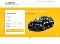 Car Rental WordPress Theme via ThemeForest