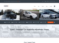 Carell WordPress Theme via ThemeForest