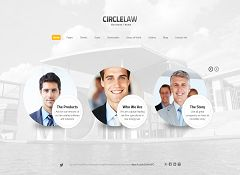 CircleLaw WordPress Theme via ThemeForest