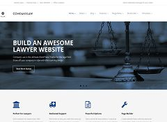 CompanyLaw WordPress Theme via ThemeForest