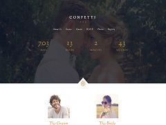 Confetti WordPress Theme via ThemeForest