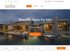 Dream Home WordPress Theme via ThemeForest