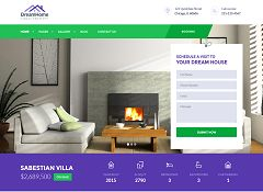 DreamHome WordPress Theme via ThemeForest