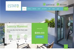 Estato WordPress Theme via ThemeForest