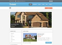 Freehold WordPress Theme via ThemeForest