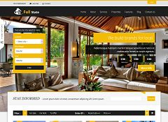 Full Estate WordPress Theme via ThemeForest