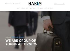 Hakim WordPress Theme via ThemeForest