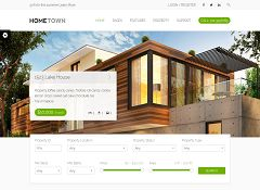 Hometown WordPress Theme via ThemeForest