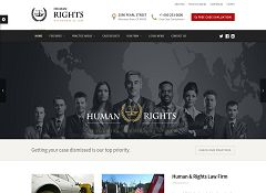 Human Rights WordPress Theme via ThemeForest