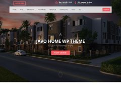Javo Home WordPress Theme via ThemeForest