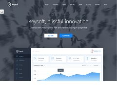 KeySoft WordPress Theme via ThemeForest