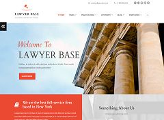 Lawyer Base WordPress Theme via ThemeForest