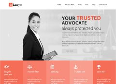 Lawyer Multipurpose WordPress Theme via ThemeForest