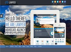 Lawyer WordPress Theme via ThemeForest
