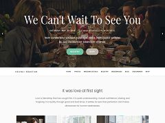 Meridian Wedding WordPress Theme via ThemeForest