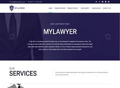 Mylawyer WordPress Theme via ThemeForest
