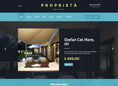 Proprieta WordPress Theme via ThemeForest