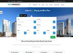Real Property WordPress Theme via ThemeForest