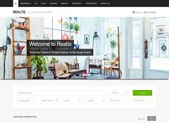 Realto WordPress Theme via ThemeForest