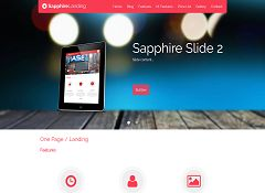 Sapphire WordPress Theme via ThemeForest