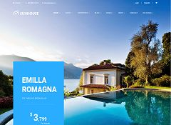 SunHouse WordPress Theme via ThemeForest