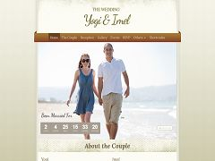 The Wedding WordPress Theme via ThemeForest
