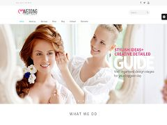 Wedding Suite WordPress Theme via ThemeForest