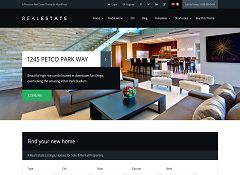 WP Pro Real Estate WordPress Theme via ThemeForest