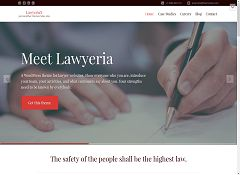 Lawyeria WordPress Theme by ThemeIsle