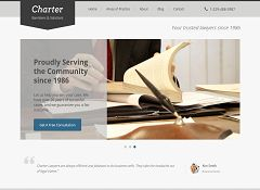 Charter WordPress Theme by ThemeLab