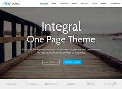 Integral WordPress Theme by Themely
