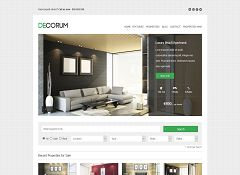 deCorum WordPress Theme by ThemeShift