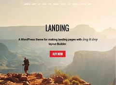 Landing WordPress Theme by Themify