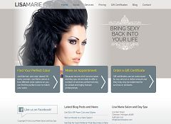 Lisa Marie Genesis Child Theme for WordPress by Web Savvy Marketing