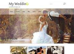 My Wedding WordPress Theme via WordPress.org