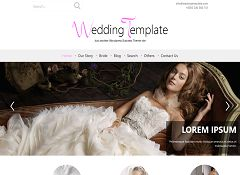 Wedding Style WordPress Theme via WordPress.org