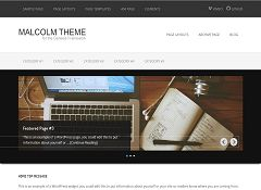 Malcolm Genesis Child Theme for WordPress by WPCanada