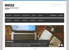 Winfield Genesis Child Theme for WordPress by WPCanada