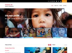 Charitas Lite WordPress Theme by WPLook