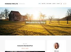 Morning Time WordPress Theme by WPLook