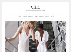 Chic Genesis Child Theme for WordPress by ZigZagPress
